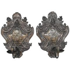 Pair of Antique French Sconces