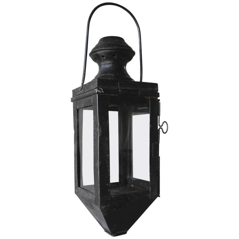 19th Century Italian Lantern For Sale