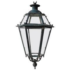 19th Century French Bronze Lantern