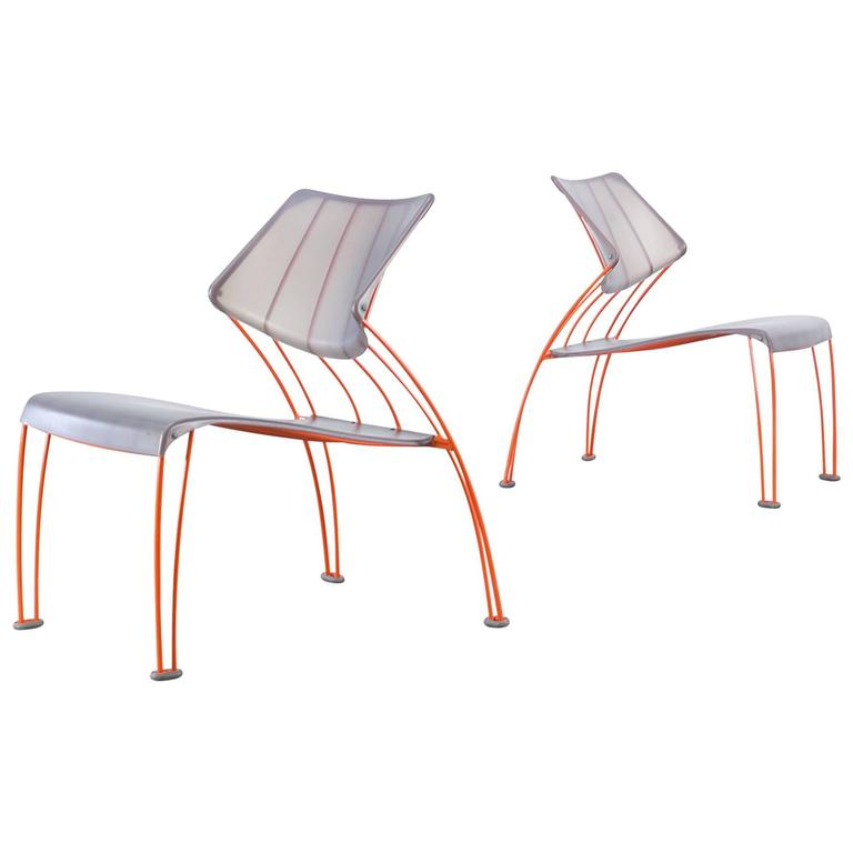 1990s Monika Mulder 'PS Hasslo' Chairs for Ikea