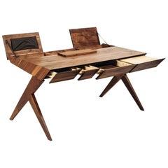 """Locust"" Wood Desk, Alexandre Caldas"