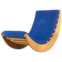 1970s Verner Panton 'Rocking' Chair for Rosenthal