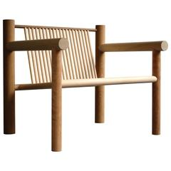Woodware Lounge Chair, Max Lamb, 2011