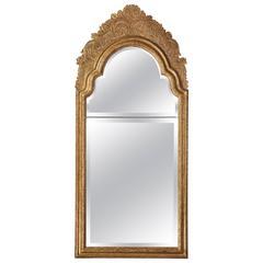 Queen Anne Giltwood Pier Glass Mirror
