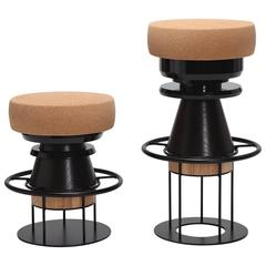 Black Tembo Stool, Note Design Studio