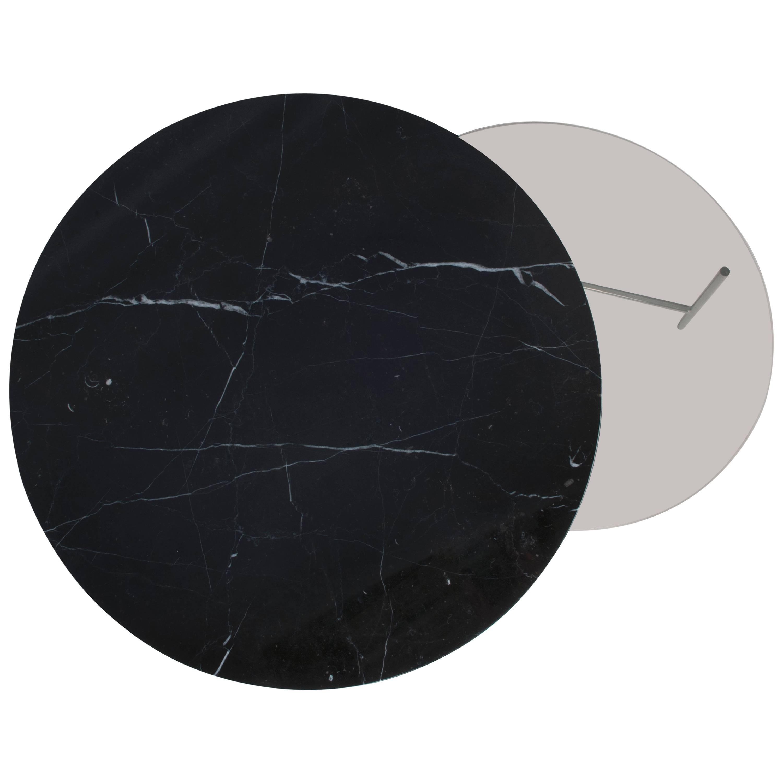 Black Marble Zorro Coffee Table, Note Design Studio