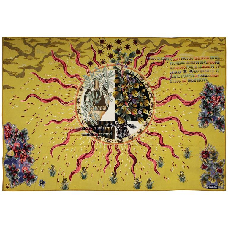 Jean Lurçat French Aubusson Tapestry