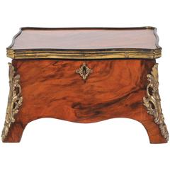 Mid-19th Century Decorative Box, Walnut and Ormolu Mounted, Grand Tour Style