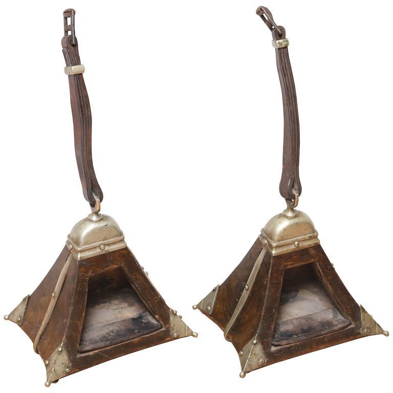 Pair of Antique Guacho Stirrups