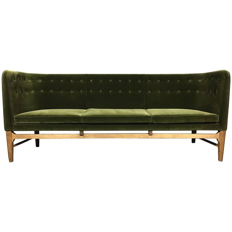 mayor sofa by arne jacobsen and flemming lassen designed 1939 for sale at 1stdibs. Black Bedroom Furniture Sets. Home Design Ideas