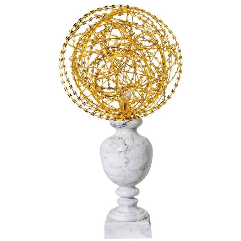 Sculpture Table Lamp, Welcome, Amarist Studio