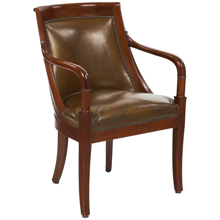 Empire Style Antique French Armchair 1