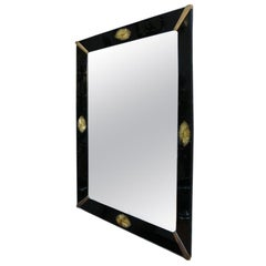 Black Glass Venetian Mirrors