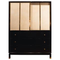 Harvey Probber Cabinet with Sliding Doors