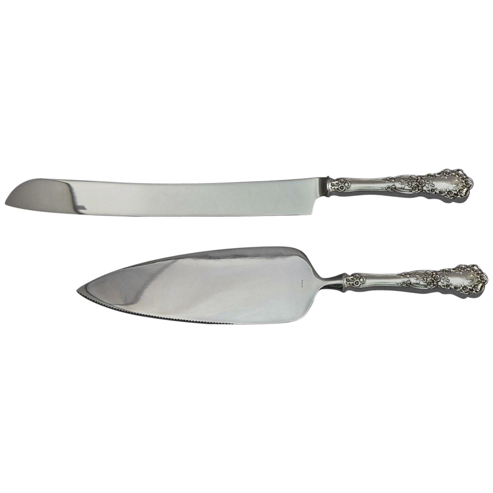 Chantilly by Gorham Sterling Silver Cheese Server Serving Set 2pc HHWS  Custom