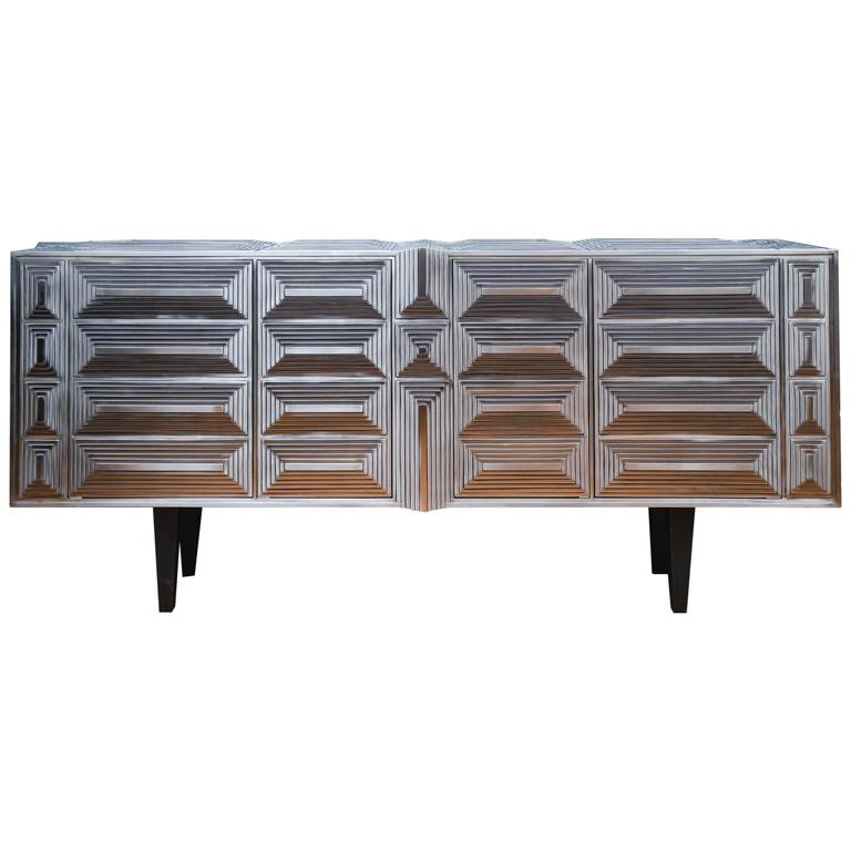 Sideboard Signed by Erwan Boulloud For Sale