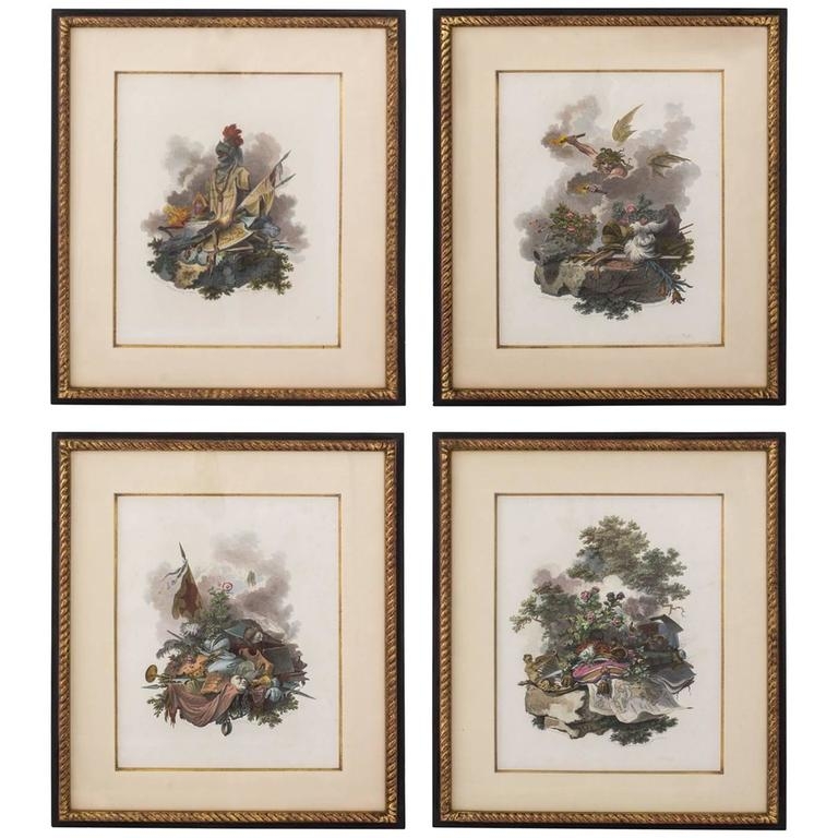 Set of Four Robert Bowyer Engravings