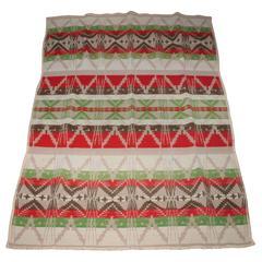 Early Pendleton Cayuse Indian Design Blanket