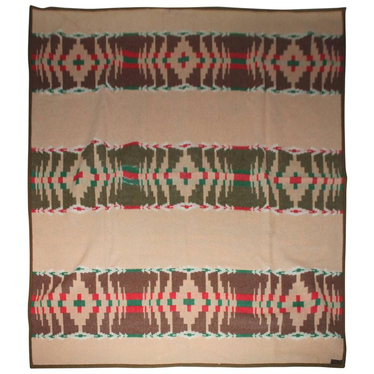 Early 1909 Pendleton Cayuse Camp Blanket