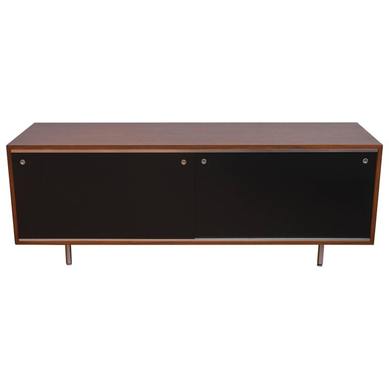 George  Nelson Walnut Credenza for Herman Miller 1