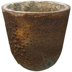 Volcanic Lava Rock Smelting Crucible / Planter