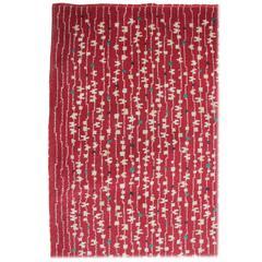 Carpet Rug, Czechoslovakia, 1950s in Style of Antonin Kybal