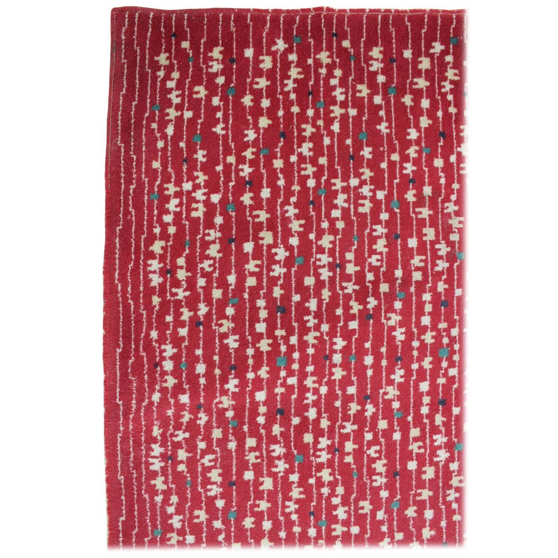 carpet rug 1950s in style of antonin kybal