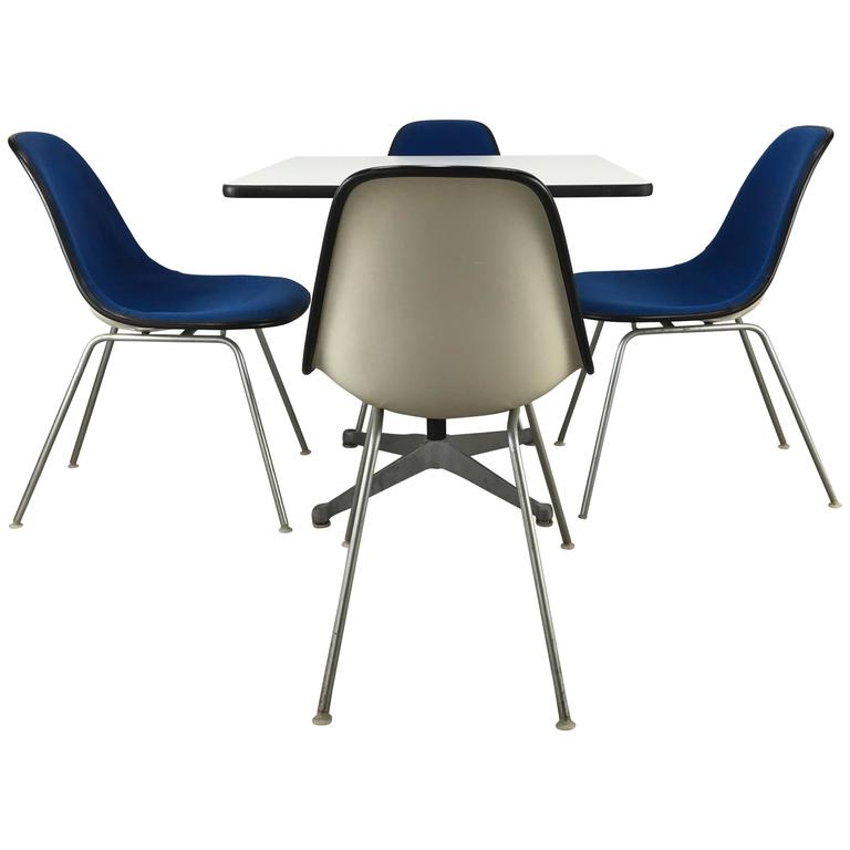 Classic Mid-Century Modern Charles and Ray Eames Dinette Set 1