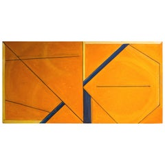 Masaaki Kusumoto Geometric Abstract Painting