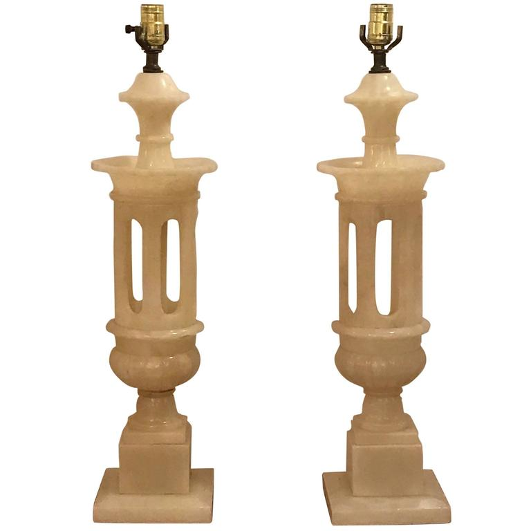 antique of lamp faux alabaster shades lamps forexsharqya classical full table antiques pair m club