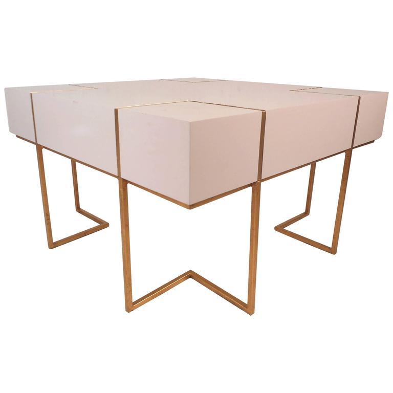 Contemporary Modern Decorator Coffee Table