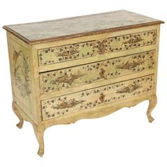Louis XV Style Painted Italian Commode