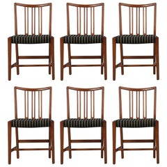 Set of Six Extremely Rare Dining Chairs by Hans Wegner