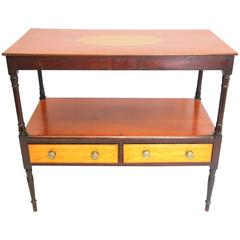 Early 19th Century Sheraton Diminutive Server or Butler's Table