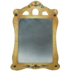 1930s Large Monterey Triple Cut-Out Mirror