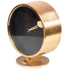 Howard Miller Brass Table Clock