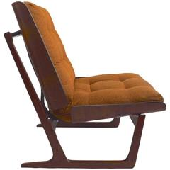 Bent Ply Lounge Chair Attributed to Grete Jalk