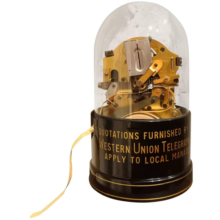 Original Edison Stock Ticker 1