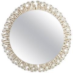 Illuminated Mirror/Wall Light by Emil Stejnar for Rupert Nikoll