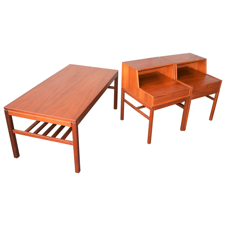 Sven Engström and Gunnar Myrstrand Coffee Table Cocktail Table