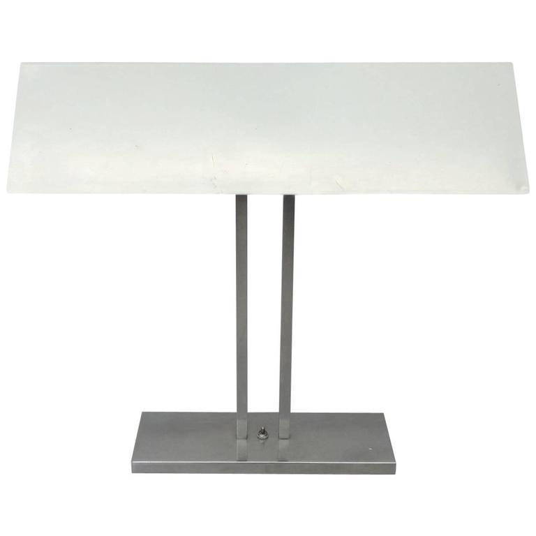 Greta Von Nessen Banker Style Desk Lamp