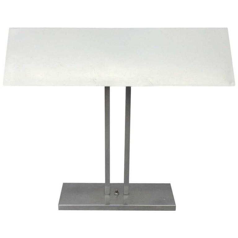 Greta Von Nessen Banker Style Desk Lamp For Sale