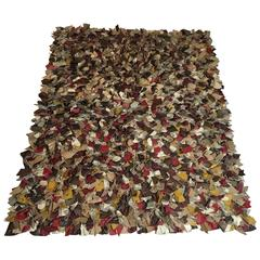 Scandinavia Patchwork Leather Rug
