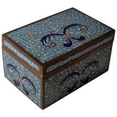 19th Century Chinese Cloisonne Decoritive Box