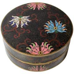 19th Century Chinese Cloisonné Decorative Box