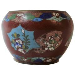 Japanese Meiji Period Cloisonné Bowl