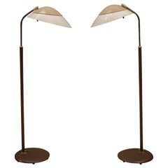 Mid Century Lightolier Floor Lamps by Gerald Thurston