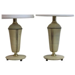 Pair of Chase Boudoir Lamps