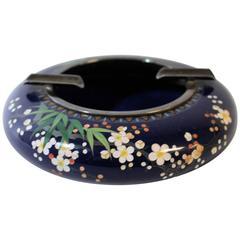 Japanese Meiji Period Cloisonné Ashtray