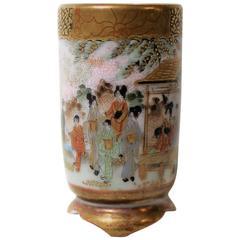 Japanese Meiji Period Porcelain Vase